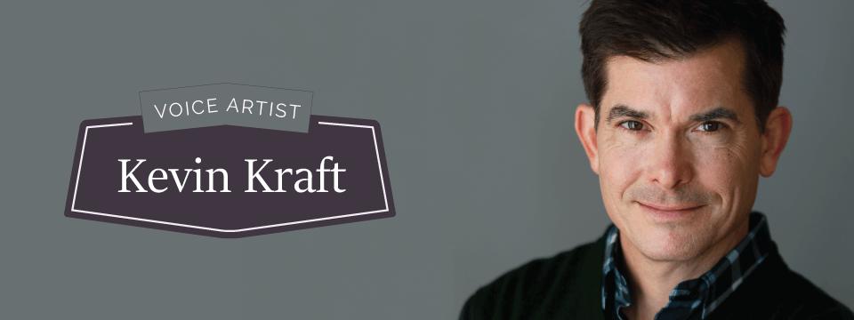 Kevin Kraft Voice Artist Banner